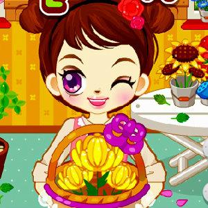 เกมส์ทดสอบความจำ Judy's Flower Day