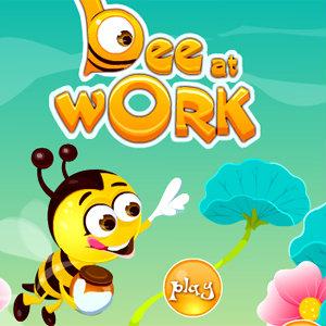 เกมส์ปลูกผัก Bee At Work game