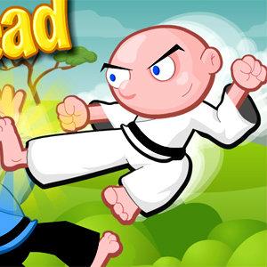 เกมส์ต่อสู้ Kick Head