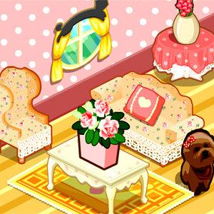 เกมส์แต่งบ้าน Pink Cottage