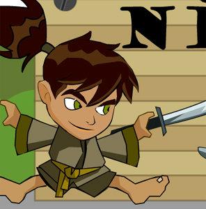 เกมส์ต่อสู้ Ben10 Ninja