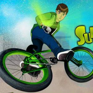 เกมเบนเทน Ben 10 Super Stunt BMX