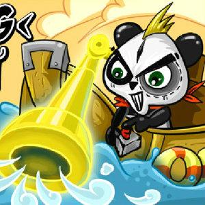 เกมส์ตกปลา fishing panda