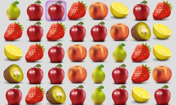 เกมส์เรียงเพชร Fruit salad