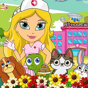 เกมส์เลี้ยงสัตว์ Cute Pet Hospital