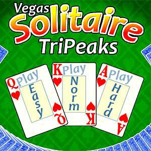 เกมส์ไพ่ vegas solitaire tripeaks