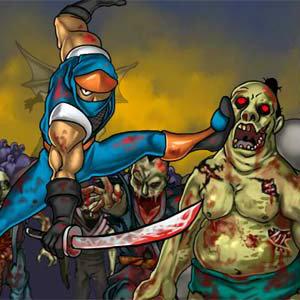 เกมส์ต่อสู้ Ninja vs Zombies 2