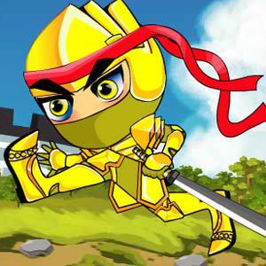 เกมส์ต่อสู้ Golden Ninja