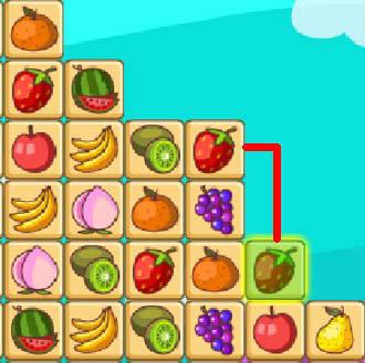 เกมส์จับคู่ fruit connect2.1