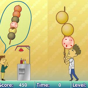 เกมส์ทดสอบความจำ fish ball string