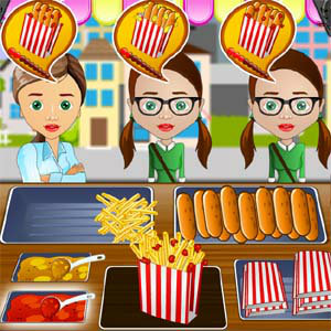 เกมส์ทำเค้ก time for chat foods