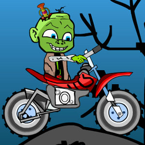 เกมส์รถแข่ง zombie baby biker