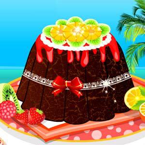 เกมส์ เกมส์ทำเค้กช็อคโกแล็ต