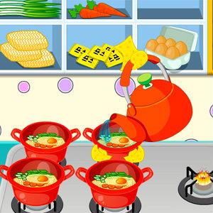 เกมส์ทำอาหาร เกมส์ทำบะหมี่ขาย