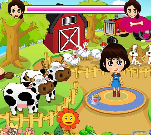 เกมส์วางแผน เกมส์ฟาร์มเลี้ยงวัวหรรษา