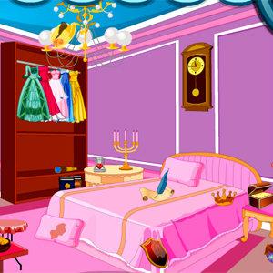 เกมส์ เกมส์ทำความสะอาดห้องเจ้าหญิง