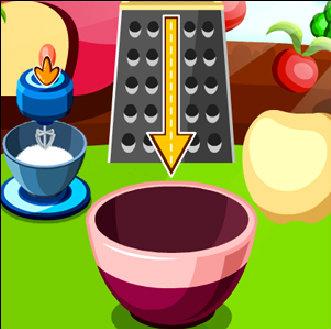 เกมส์ทำเค้ก เกมส์ทำเค้กแอปเปิ้ล