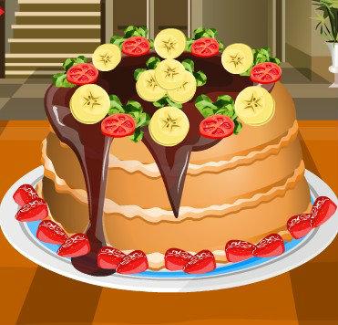 เกมส์ทำเค้ก เกมส์แต่งหน้าแพนเค้ก