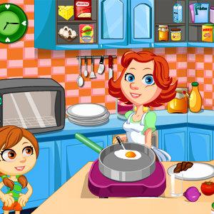 เกมส์ทำเค้ก เกมส์ทำอาหารเช้า