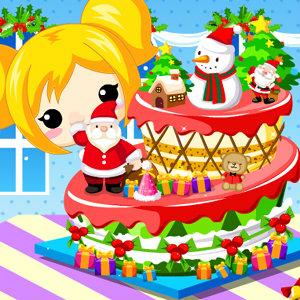 เกมส์ทำเค้ก เกมส์ทำเค้กวันคริสมาสต์