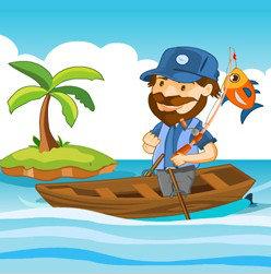 เกมส์ตกปลา เกมส์ล่องเรือตกปลา