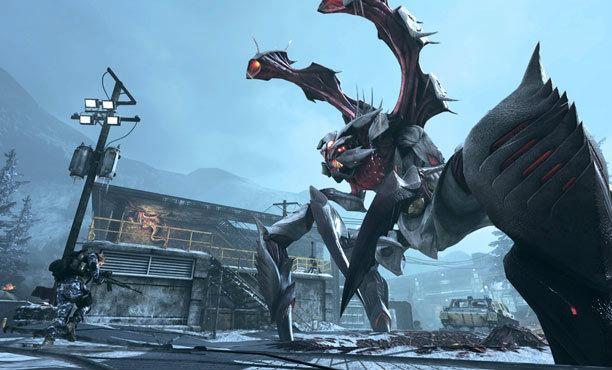 Call of Duty: Ghosts Onslaught รบกับสัตว์ประหลาดแทน