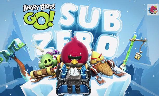 Angry Birds Go! เพิ่มฉากใหม่ Sub Zero