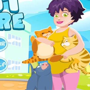 เกมส์เลี้ยงสัตว์ เกมส์รับเลี้ยงแมว