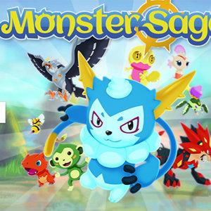 เกมส์ต่อสู้ เกมดิจิมอน Monster Saga