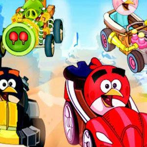 เกมส์รถแข่ง เกมส์แองกี้เบิร์ดซิ่งรถ
