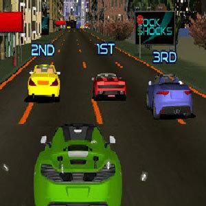 เกมส์ขับรถแข่ง ในเมืองหลวง