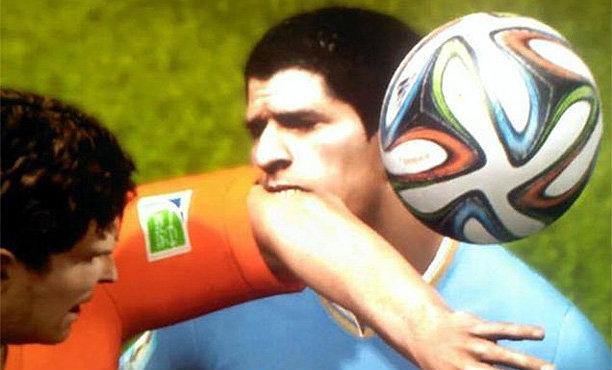 ฮาๆ หลุยส์ ซัวเรซ โดนแบนใน FIFA 15 ด้วย