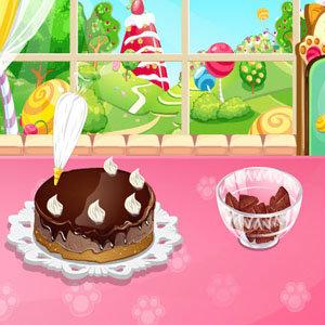 เกมส์เสิร์ฟอาหาร เกมส์ทำเค้กช็อกโกแลตลาวา