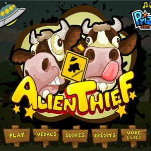 เกมส์เครื่องบิน เกมส์มนุษย์ต่างดาวขโมยวัว