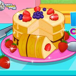 เกมส์ทำเค้กไอศกรีมแสนอร่อย