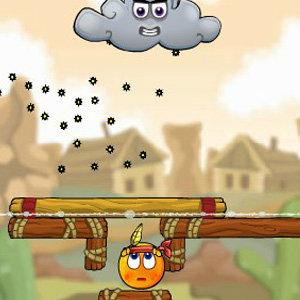 เกมส์ฝึกสมอง เกมส์ปกป้องส้มน้อย