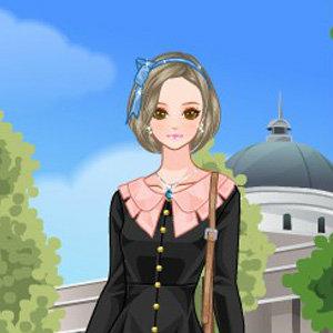 เกมส์แต่งตัว เกมส์แต่งหน้าสาวสวยไปโรงเรียน