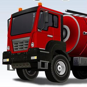 เกมขับรถดับเพลิงสีแดง