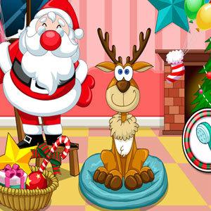 เกมส์เลี้ยงสัตว์ เกมส์เลี้ยงกวางวันคริสมาสต์