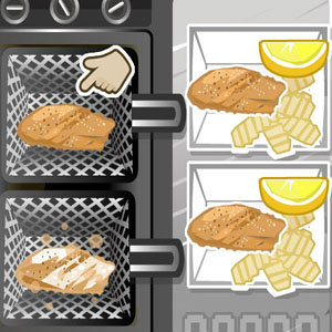 เกมส์ทำสเต็กปลา