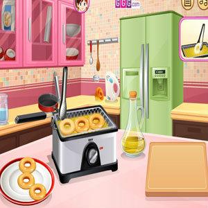 เกมส์ทำเค้ก เกมส์ทำขนมโดนัท