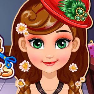 เกมส์ทำผม Frozen Anna Haircuts