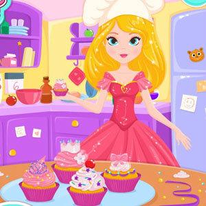 เกมส์เสิร์ฟอาหาร เกมส์เจ้าหญิงทำเค้ก