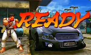 คลิปพังรถด้วยมือเปล่า แบบเกม Street Fighter