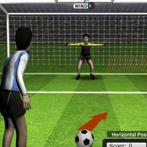 เกมส์ เกมส์ยิงจุดโทษ 12 Yards Penalty Challenge