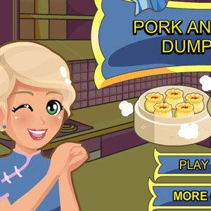 เกมส์ทำอาหาร เกมส์ทำเกี๊ยวกุ้งแสนอร่อย