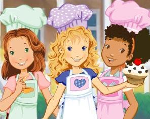 เกมส์ทำเค้ก The Hey Girls Muffin Maker