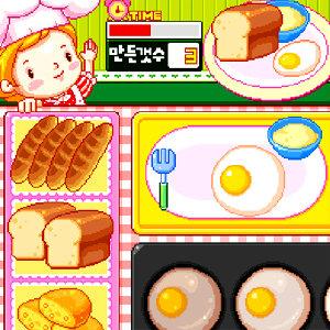 เกมส์ทำเค้ก เกมส์ทำอาหารเช้าให้เด็กๆ