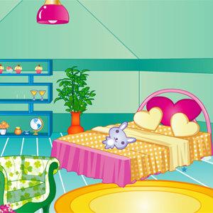 เกมส์แต่งบ้าน เกมส์แต่งห้องนอนแสนหวาน