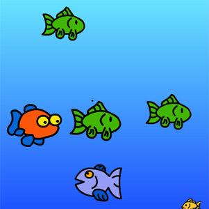 เกมส์ เกมส์กินปลาเล็กกันเถอะ